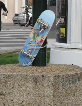 antivol skateboard