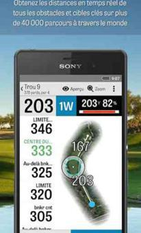 application golf gratuite