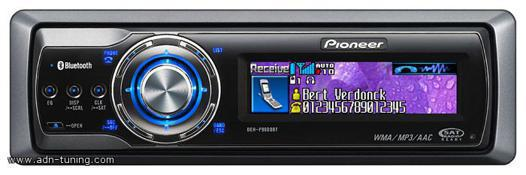 autoradio pioneer bluetooth commande au volant