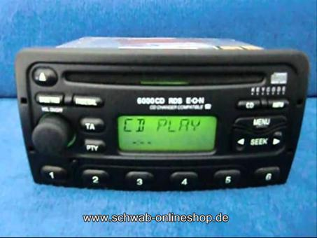 autoradio ford 6000 cd