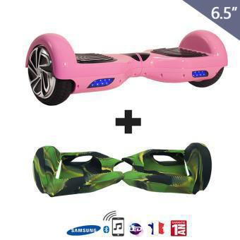 coque silicone hoverboard 6.5 pouces