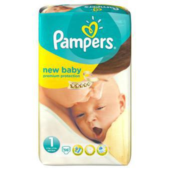 couche taille 1 pampers