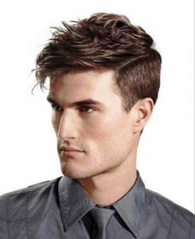 coupe homme visage long