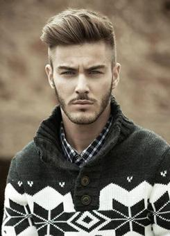coupe homme visage ovale