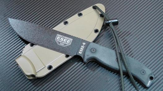 couteau esee 6