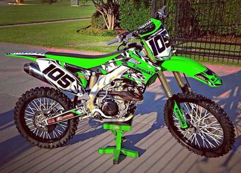 couvre rayon motocross