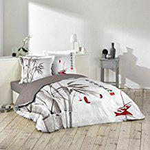 housse couette bambou