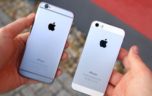 iphone se et 5s