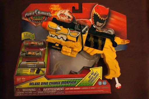 jouet power rangers dino charge