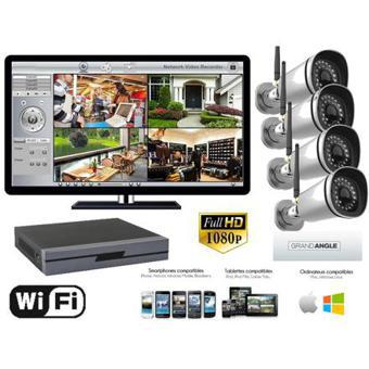 kit camera video surveillance exterieur