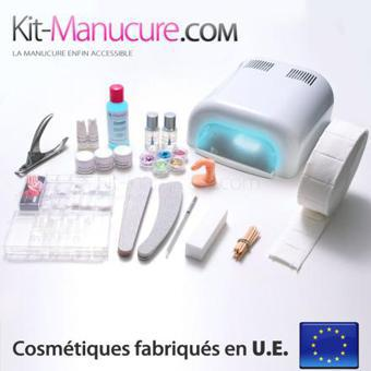 kit ongles uv
