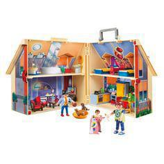 maison de playmobil transportable