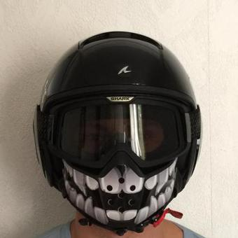 masque casque shark raw