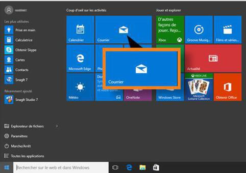messagerie windows 10