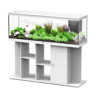 meuble aquarium blanc
