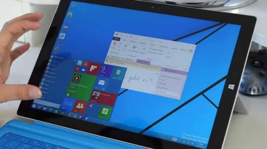 microsoft surface pro windows 10