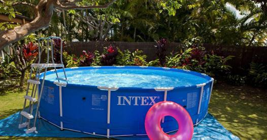 montage piscine hors sol intex tubulaire
