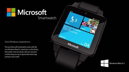 montre connectée sous windows phone