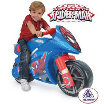 moto enfant spiderman