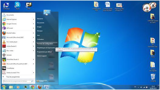 ordinateur avec windows 7