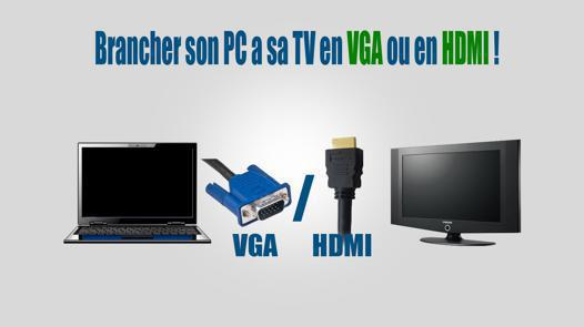pc tv hdmi son