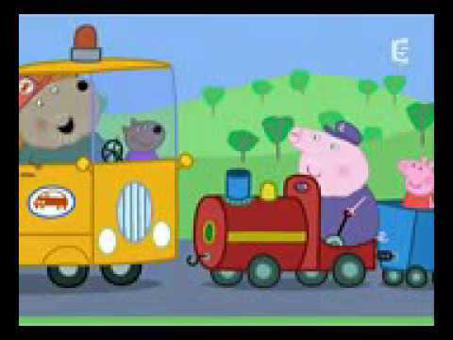 peppa pig en francais le petit train
