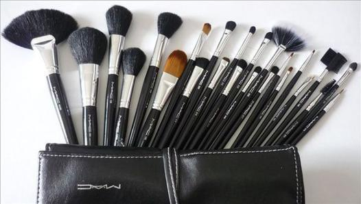 pinceaux maquillage professionnel mac