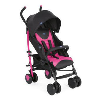 poussette canne chicco rose