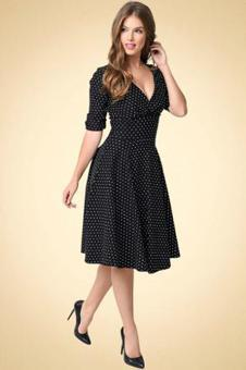 robe retro chic vintage