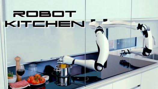 robot kitchen cook