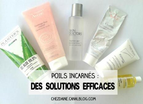 solution poils incarnés