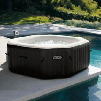 spa gonflable lumineux