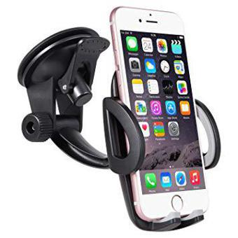 support telephone voiture ventouse