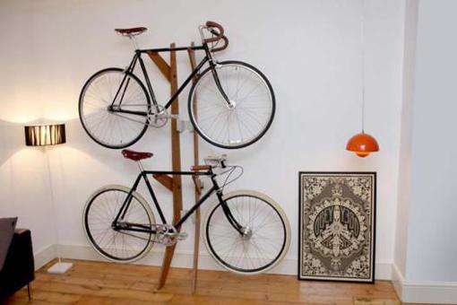 support velo appartement