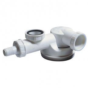 syphon evier plat