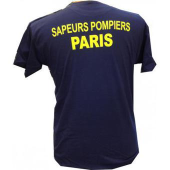 t shirt pompier de paris