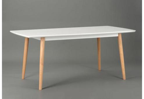table blanche scandinave