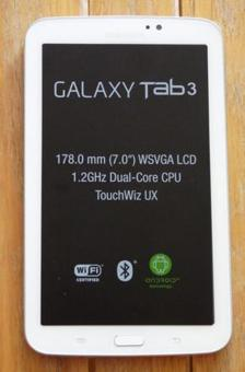 tablette 7 pouces samsung galaxy tab 3