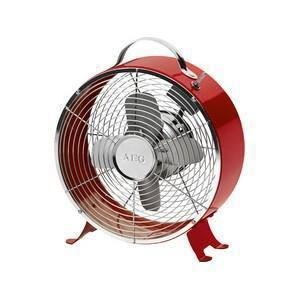 ventilateur rouge