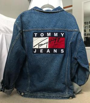 veste denim tommy hilfiger