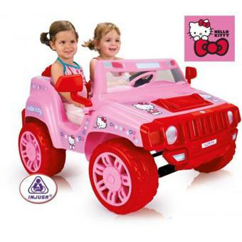 voiture hello kitty electrique