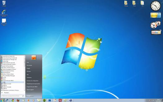 windows 7 bureau