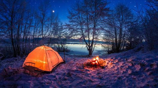 winter camping tents